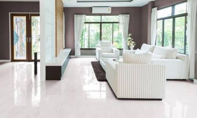 Cách phối màu gạch lát nền với màu sơn tường đẹp