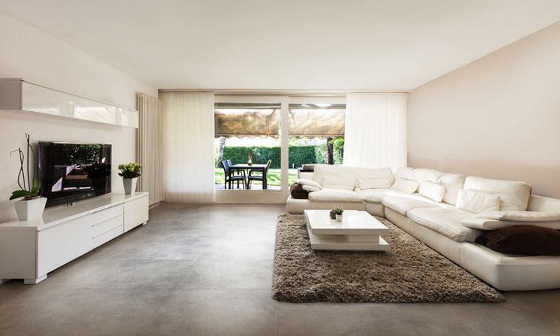 Gạch lát nền phòng khách đẹp Đồng Tâm trong bộ sưu tập Tam Đảo