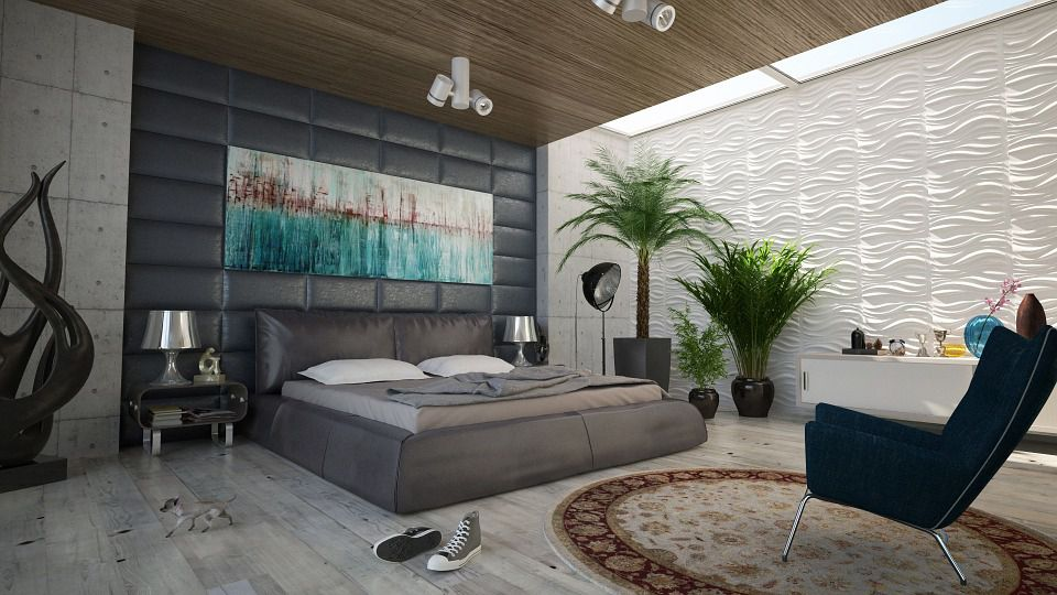 gạch lát nền phòng ngủ