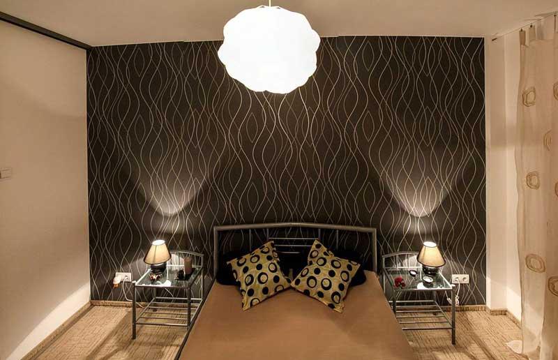 sử dụng gạch lát nền họa tiết cho phòng ngủ