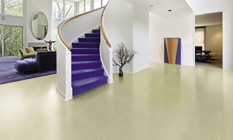 4 nguyên tắc vàng khi lựa chọn gạch lát nền phòng khách nhà ống