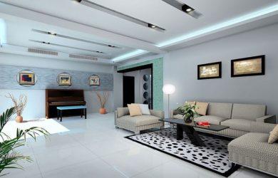 Phòng khách có diện tích lớn