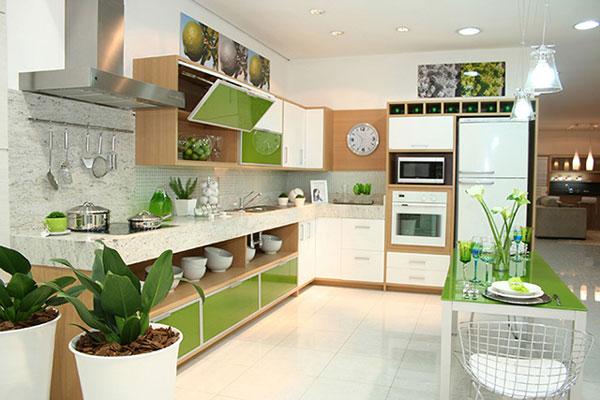 Màu sắc trong căn bếp