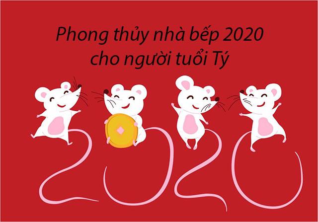 Phong Thủy nhà bếp 2020 cho người tuổi Tý