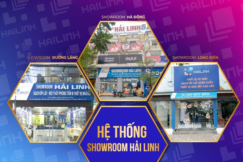 Hệ thống showroom Hải Linh