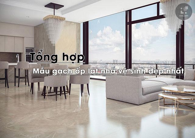 Chọn gạch ốp lát cho phòng ngủ nhà phố 2021