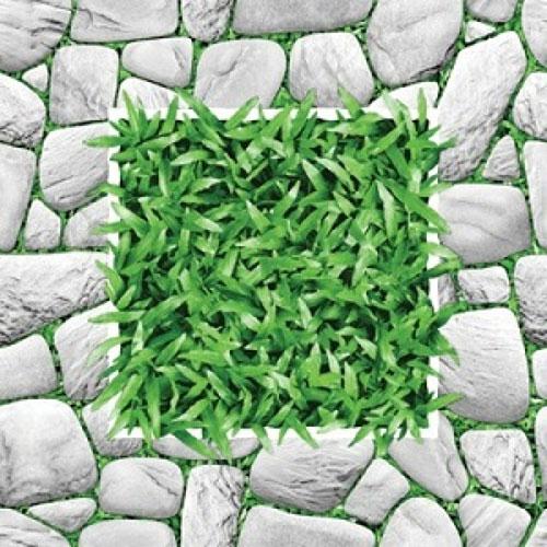 Gạch sân vườn giả cỏ phong cách Rustic