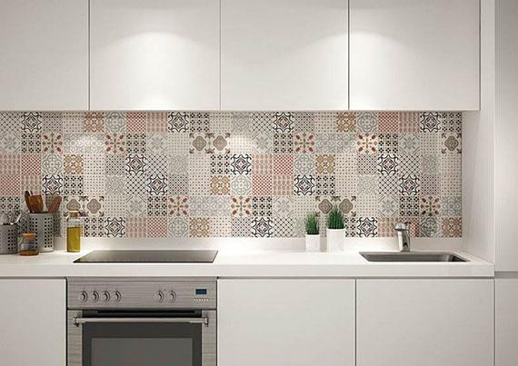 Các mẫu gạch ốp tường bếp đẹp nhập khẩu trực tiếp từ Tây Ban Nha
