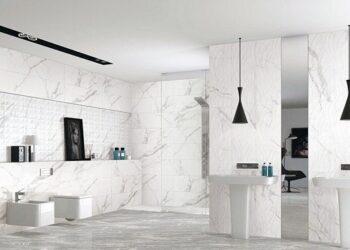 Gạch ốp tường 40x80 màu sắc nhã nhặn cho không gian hiện đại