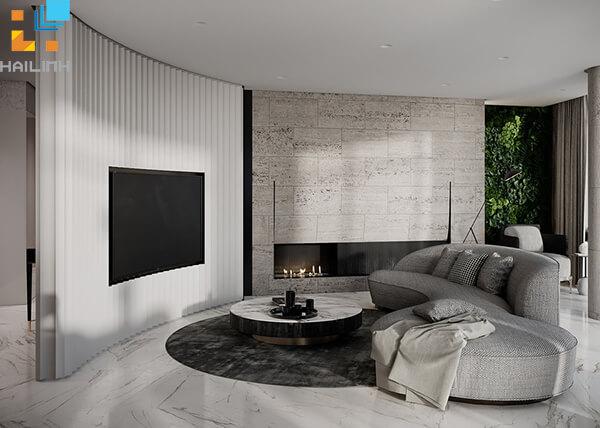 Phối màu gạch ốp tường phòng khách-08