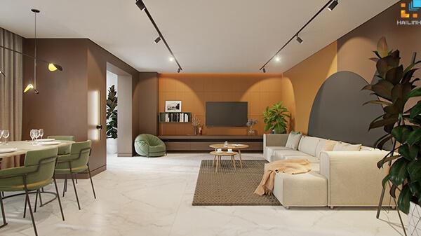 Phối màu gạch ốp tường phòng khách-07