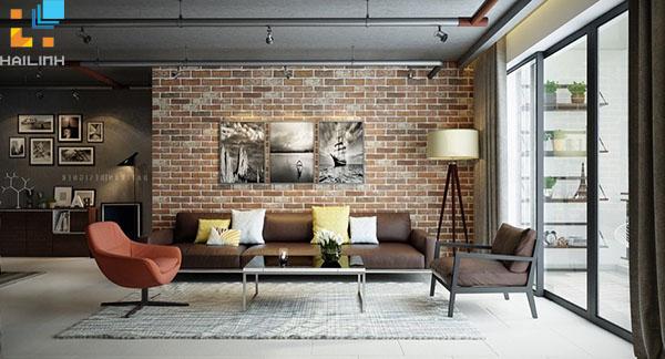 Phối màu gạch ốp tường phòng khách-03