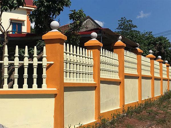 Cach Phoi Mau Son Hang Rao Dep Hop Phong Thuy Khong The Bo Qua 5