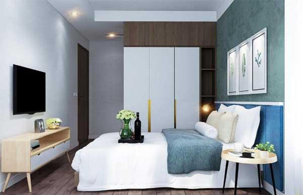 Nên chọn các đồ dùng tiện dụng cho phòng ngủ để không gian được rộng rãi