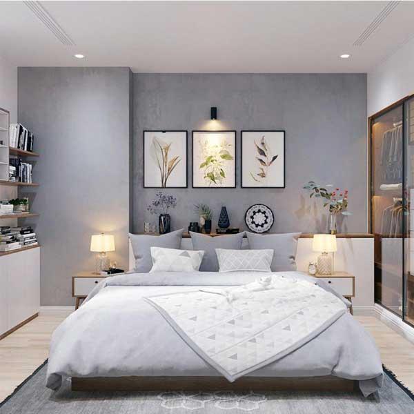 Nên chọn đèn ánh sáng ấm cho phòng ngủ