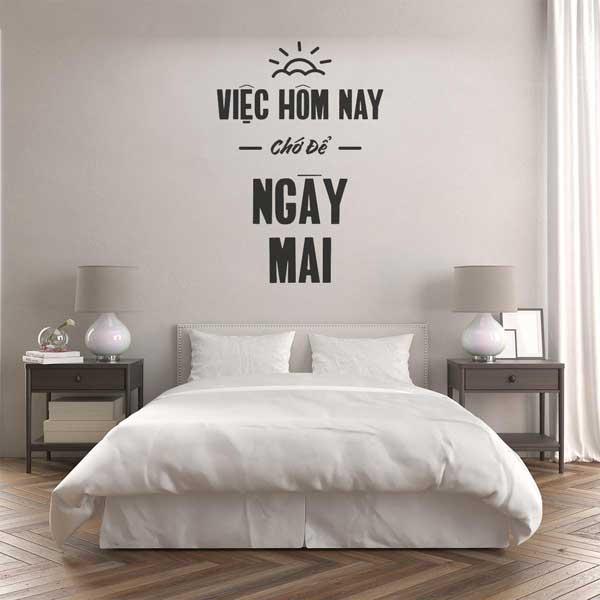 Sử dụng hình vẽ để trang trí phòng ngủ giúp bạn có được không gian phòng ngủ ưng ý nhất